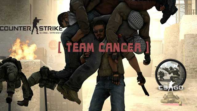 Скриншот к Team Cancer v1.1 [GlowESP, Bhop, Radar]